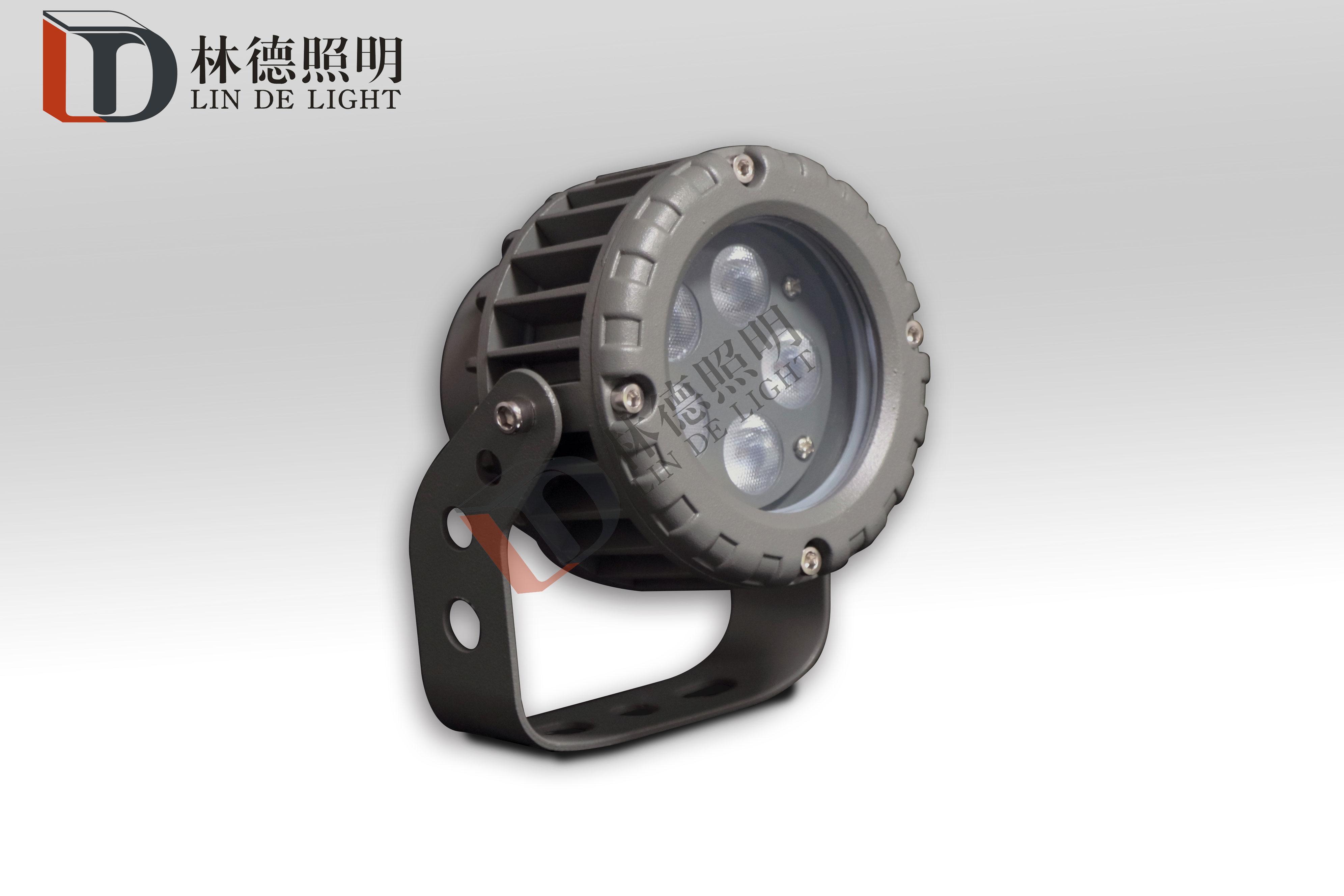 5W小功率圆形投光灯