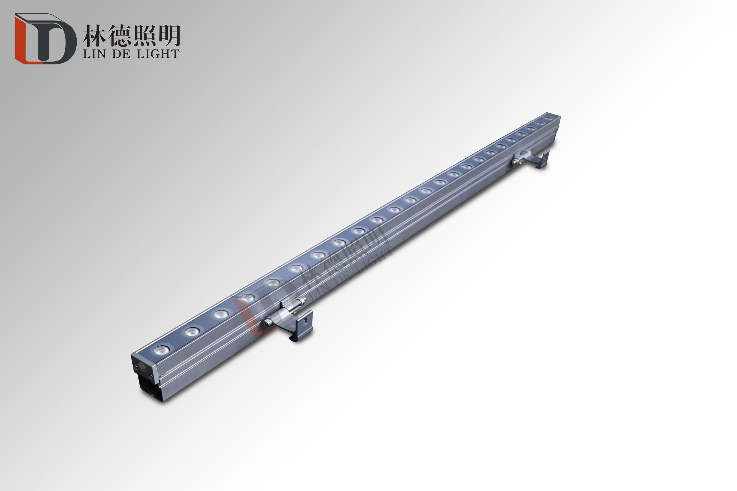 中国风18-24W线性洗墙灯线槽款