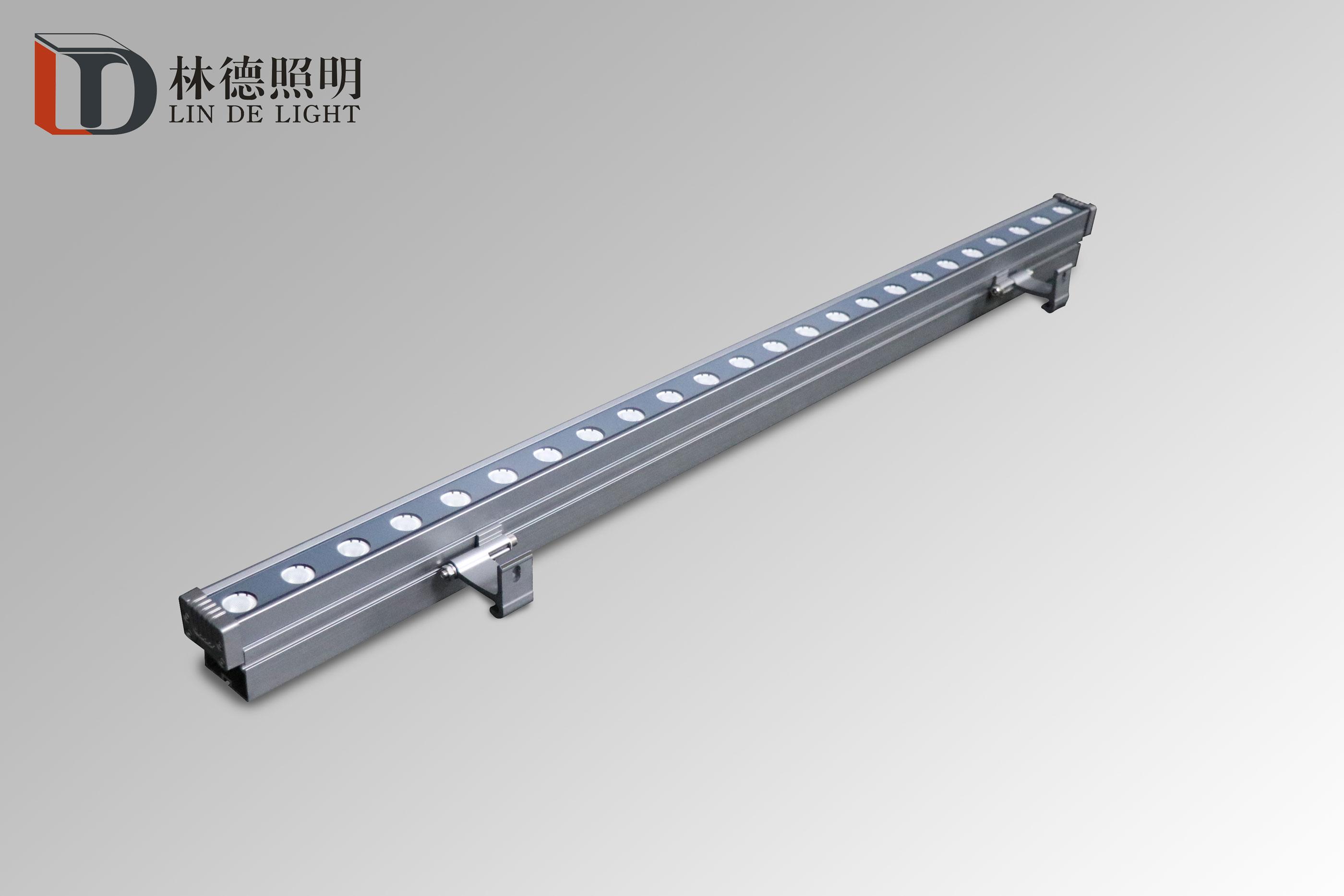带线槽结构防水洗墙灯