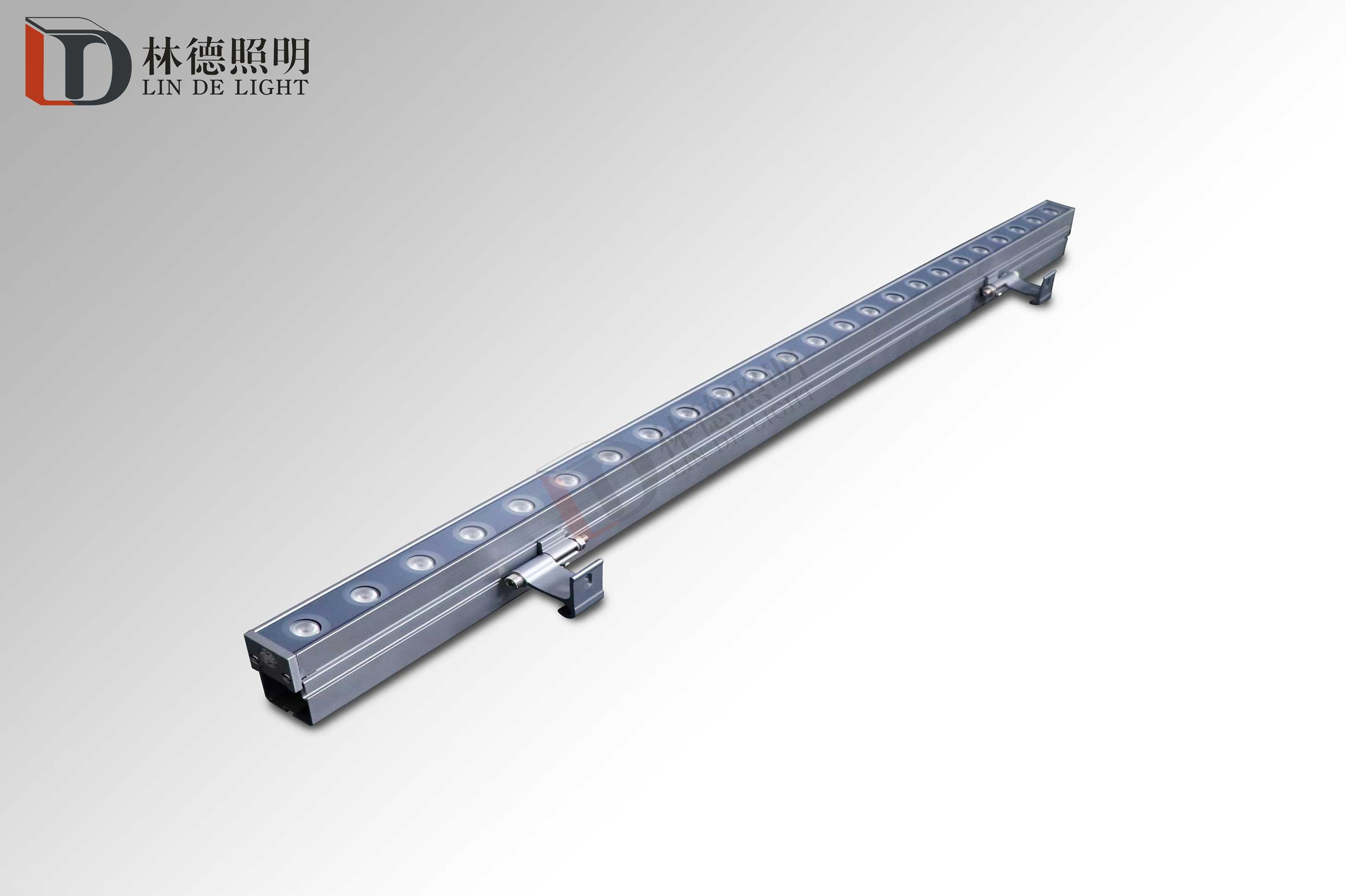 中国风结构防水洗墙灯线槽款